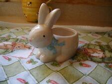 Vintage Burton & Burton Ceramic Bunny Planter Or Candy Dish