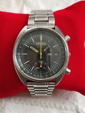 Vintage Seiko Chronograph 6139-8002 Stainless Steel Men's Watch