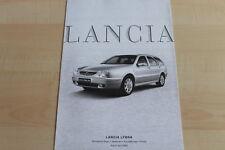 148450) Lancia Lybra - Preise & tech. Daten & Ausstattungen - Prospekt 04/2002