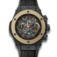 Hublot Big Bang unico Magic Oro 411.CM.1138.RX - mai indossato con scatola e documenti