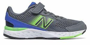 New Balance Kid's 680v6 Little Kids Male Shoes Grey