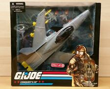 GI JOE Target Exclusive CONQUEST X-30 with LT. SLIP STREAM Vehicle + Figure 2008