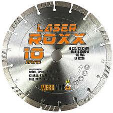 Neuentwicklung: Laser ROXX Diamanttrennscheibe universal | Ø 125 - 350 mm