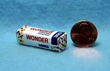Dollhouse Miniature Detailed Replica Loaf of Wonder Bread Food HR54004