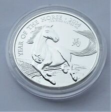 Royal Mint 2014 Lunar Year of the Horse Silver 999 Purity 1oz Bullion coin