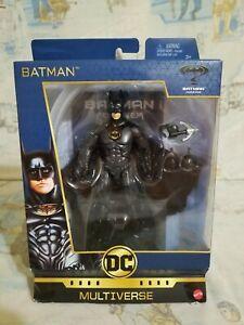 """DC Comics Multiverse Signature Collection Batman Forever 6"""" Batman 2017 Mattel"""