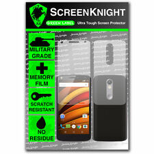 Screenknight Motorola Moto X Force Full cuerpo Protector De Pantalla Invisible Shield