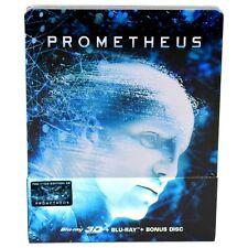 PROMETHEUS 3D + 2D BLU-RAY STEELBOOK EDITION #5B FILMARENA NEW & SEALED