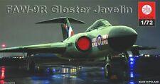 GLOSTER JAVELIN FAW  9R /RANGE/ ( RAF MARKINGS) 1/72 PLASTYK