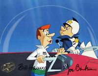 Jetsons-George-Original Production Cel Signed By Hanna+Barbera