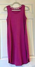Isaac Mizrahi Dress Pink Sleeveless Long Dress Size Small