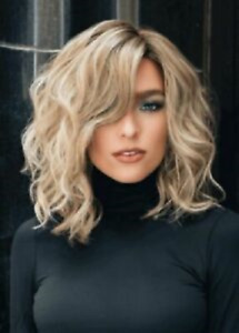 Hot Sell Wig New Fashion Gorgeous Medium Natural Blonde Wavy Women's Wigs Hair