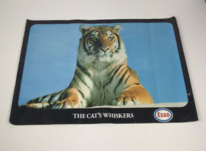 Vintage original advertising Esso Tigers poster - The Cat's Whiskers