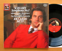 EL 27 0270 1 Scriabin Symphony no. 1 Riccardo Muti 1986 EMI Digital NM/EX