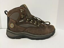 Timberland Chocorua Trail Mid Waterproof Hiking Boots, Brown, Men's 12 Wide