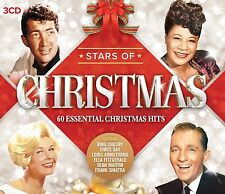Stars of Christmas 3 CD Neuf box-set Ella Fitzgerald/petula clark/peggy lee