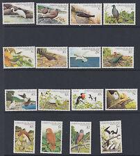 CHRISTMAS ISLAND: 1982 Birds definitive set 1c-$4 SG 152-67 MNH