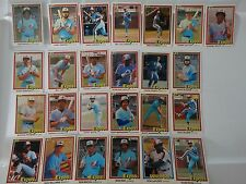 1981 Donruss Montreal Expos Team Set of 25 Baseball Cards