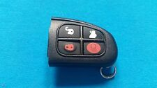 ORIGINAL JAGUAR X TYPE 4 BUTTON FLIP KEY FOB REMOTE EURO SPEC REMOTE ONLY