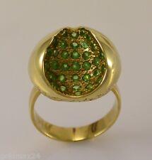 Damen-Ring mit Tsavorit / 585er 14 Karat Gold