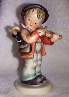 """HUMMEL FIGURINE Hummel 'Little-Fiddler' #4 TMK-3SS  5"""" Tall"""