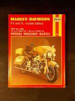 Haynes Harley-Davidson FX and FL Models Owners Workshop Manual (PB, 1984)
