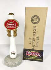 Stella Artois Premium Belgian Lager Beer Tap Handle 7� Tall - Brand New In Box!
