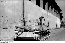 German Army Assault Gun StuG Italy 1944 World War 2 Reprint Photo 6x4 Inch