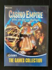 Casino Empire PC, 2002 Sierra Build, Run and Rule Las Vegas PC/CD-ROM