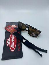 Berkley Polarized BER003 Sunglasses TORBRN w free cloth bag and retainer