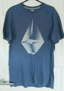 Volcom Blue T-Shirt Size M
