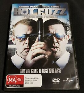 Hot Fuzz - DVD - Pre Owned - VGC