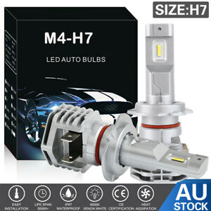 2X H7 LED Headlight Globes12V 110W Xenon 6000k Car White Lamp Replace Bulbs AU