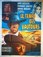 Plakat Kino Western Le Temps Des Geier - 120 X 160 CM
