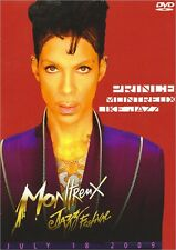 PRINCE MONTREUX LIKE JAZZ LIVE DOUBLE-DISC DVD TWO SHOWS JULY 18 2009 festival