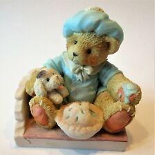 Cherished Teddies Little Jack Horner #624780 - I'm Plum Happy You're My Enesco
