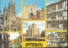 Kent Postcard - Views of Canterbury   LC4390