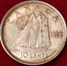 1938 Canadian Silver Dime  ID #18-13