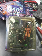 HEAVY METAL 2000 ACTION FIGURES  MOORE ACTION COLLECTIBLES KEVIN EASTMAN F.A.K.
