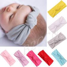 Cute Baby Headband Toddler Kids Girls Bow Hairband Turban Knot Rabbit Headwear