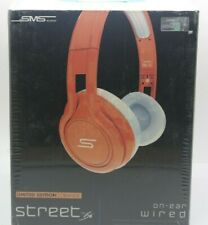SMS Audio Street by 50 Limited Edition Orange On-ear Wired Headphones