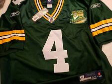 Brett Favre 2003 Green Bay Packers Authentic Home NFL Game Jersey Size 50