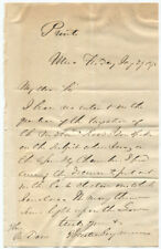 1875 Horatio Seymour Writes I have no interest in. taxation of the Midland Rd