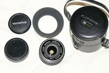 Olympus H.Zuiko Auto-W 24mm f2.8 Wide Angle Lens   Excellent Condition