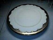 "MIKASA BONE CHINA - TWO 12 1/8"" CHOP PLATES"