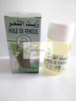 huile de Fenouil végétale 100% BIO et Naturel -  Pure Bio Fennel Oil 30 ml