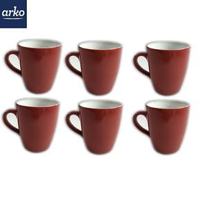 0,4 L Set 6 x Kaffee Tee Becher Porzellan Tassen Chochloma Khokhloma 6tlg