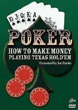 Poker : How To Make Money Playing Texas Hold'Em (2005) - NEW DVD - Region 4