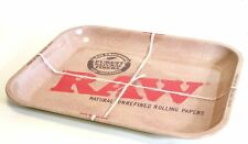 RAW Rolling Metal Tray 1970's Vintage Style LARGE Size Perfect Way To Roll Your