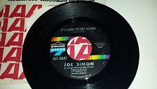JOE SIMON: It's Hard To Get Along / San Francisco Is A  SOUND STAGE 7 2641 45